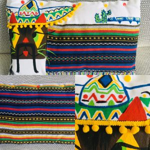 Coussin le Mexicat 30x50