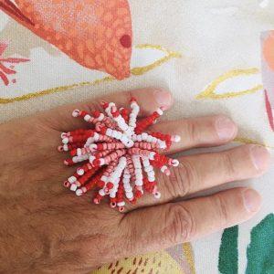 Bague mobile Perles