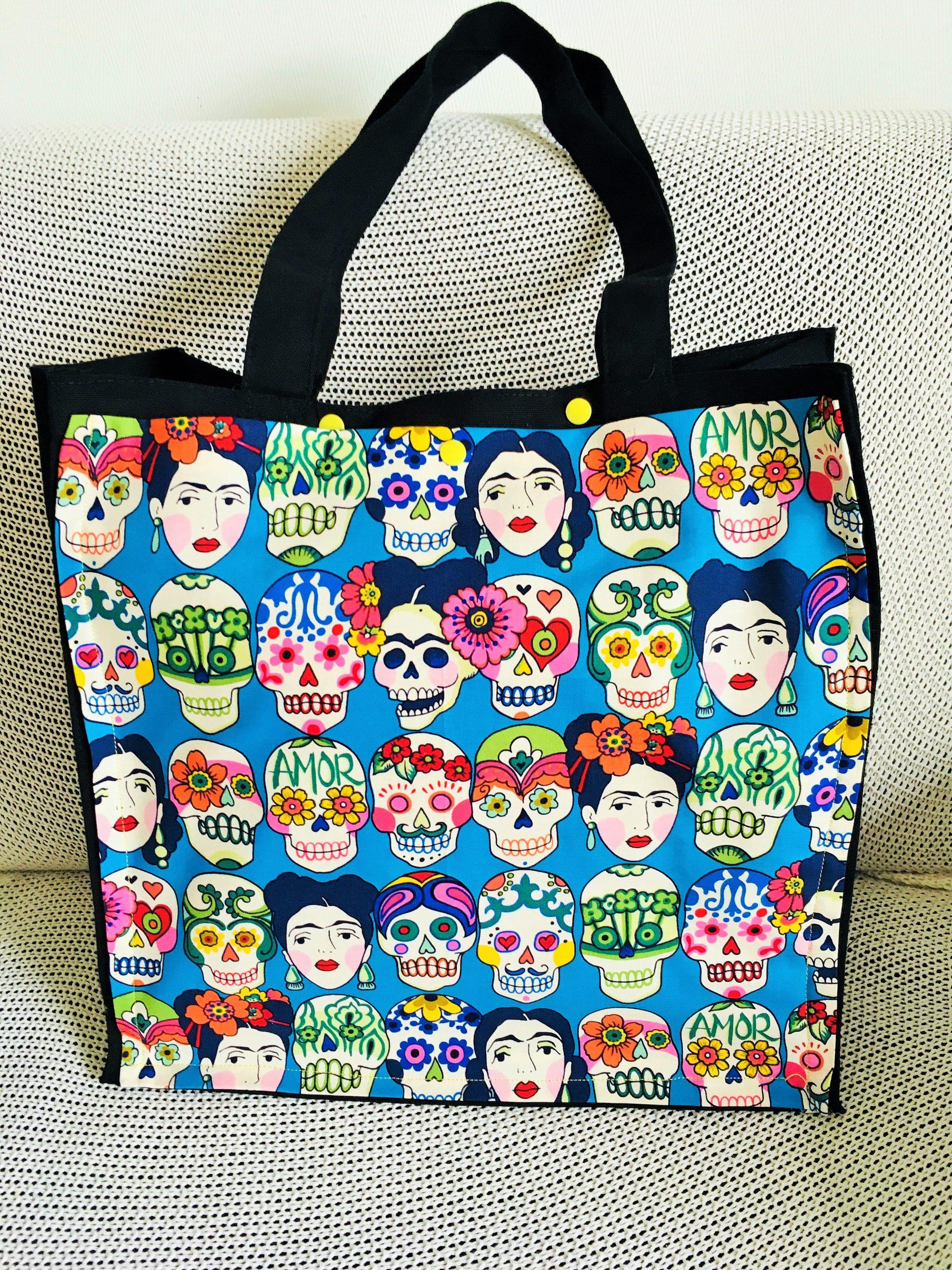 sac tissu mexico frida kahlo